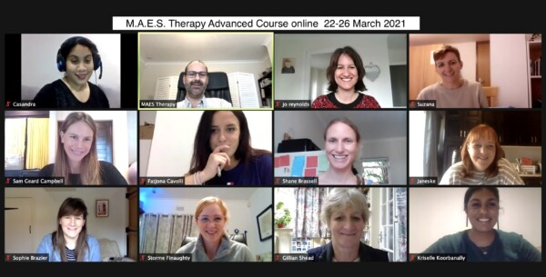 MAES Therapy 'ART' Advanced Course online 22-26 March 2021