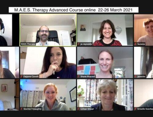 (English) Advanced  M.A.E.S. Therapy Course – March 2021
