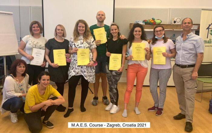 MAES Therapy – Highly specialised courses in Zagreb, Croatia for paediatric therapists treating children with Cerebral Palsy.