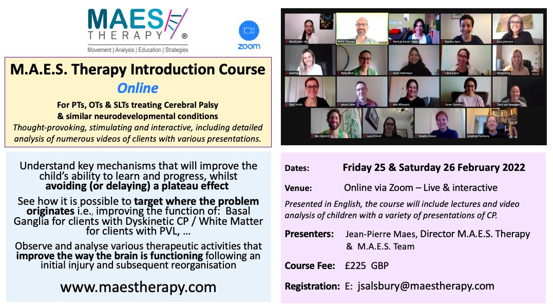 MAES Introduction Course, 2-Days Online  25-26 Feb.2022