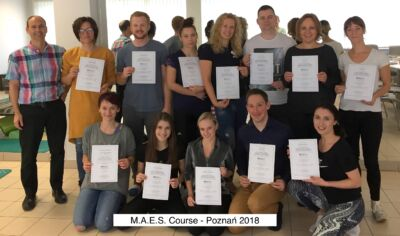 Participants with Certificates - MAES Course, Poznań 2018